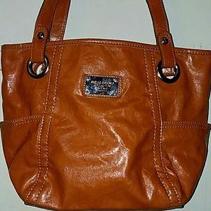Relic burnt orange shoulder bag, great for fall.